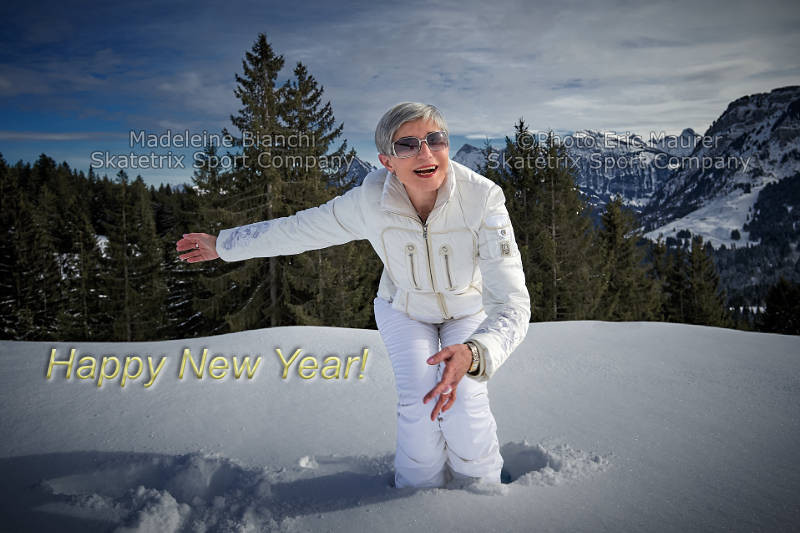 MADELEINE BIANCHI - New Year's greetings from the Swiss Alps!