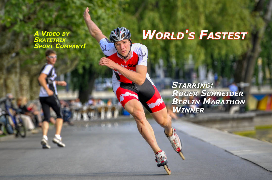 WORLD'S FASTEST | speed skating video clip